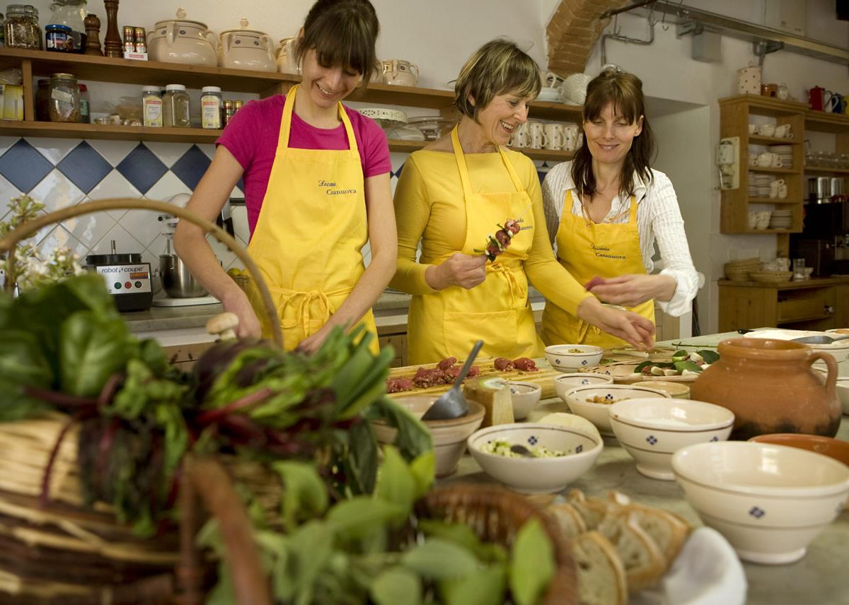 Corsi Di Cucina Locanda E Fattoria Casanuova